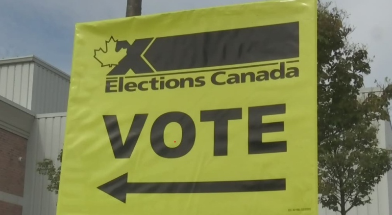 Voters cast their ballots in Stratford