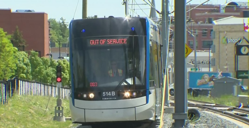 New videos show near-misses with LRT trains