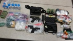 Guns, drugs, and cash were seized by Durham Regional Police over the course of a five-month investigation called Project Econoline. (DRPS)
