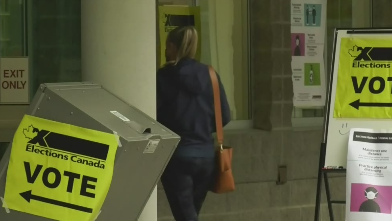 B.C. residents head to the polls in 2021 election
