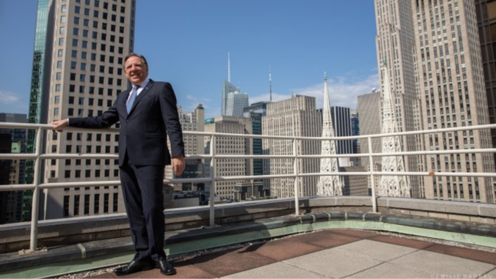 Francois Legault in NYC