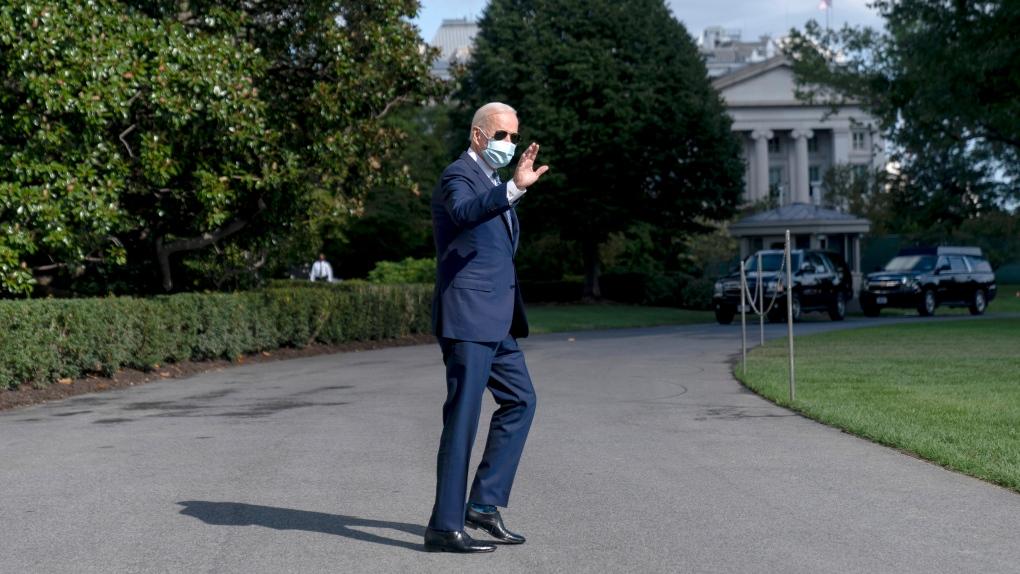 U.S. President Joe Biden Sept. 20