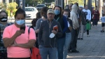 Long lines greet voters on Election Day