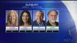 Sudbury riding federal candidates