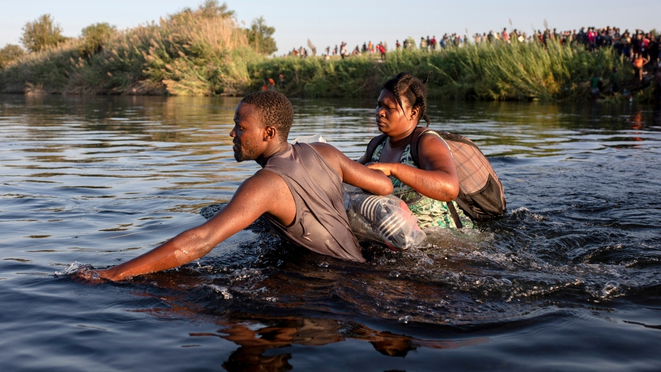 Haiti migrants Texas