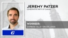 Jeremy Patzer, the Conservative Party candidate in Cypress Hills-Grasslands, has been re-elected in the 2021 federal election.