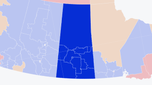 As of 11 p.m. on September 20, Conservatives have been declared as winners in 13 Saskatchewan ridings.
