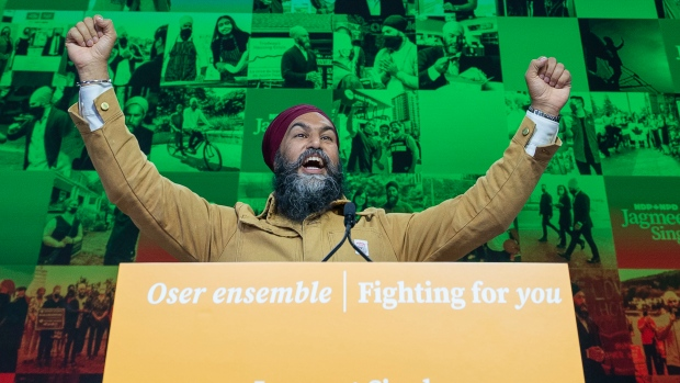 NDP may hold the balance of power in Parliament