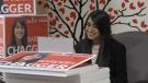 Bardish Chagger after her election win (Ricardo Veneza / CTV Kitchener)