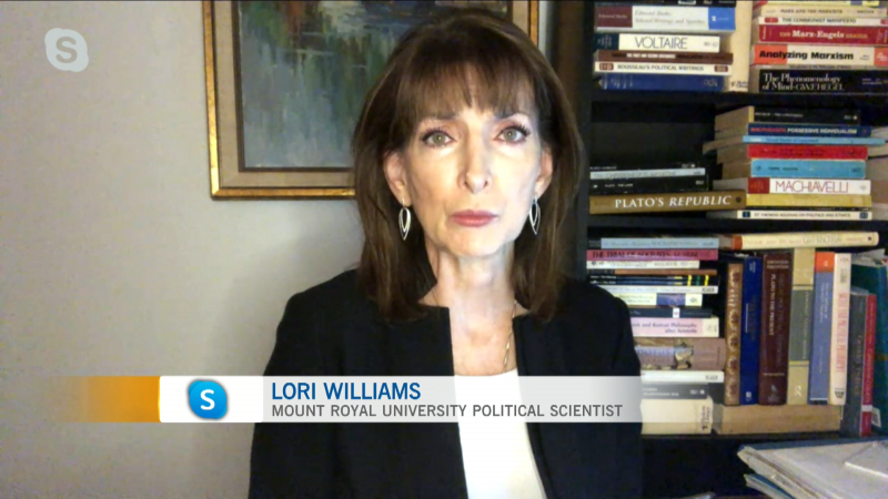 MRU Political Scientist Lori Williams wraps up the election results