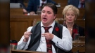 Minister Kent Hehr responds to a question during Question Period in the House of Commons in Ottawa on Oct. 30, 2017. (THE CANADIAN PRESS/Adrian Wyld)