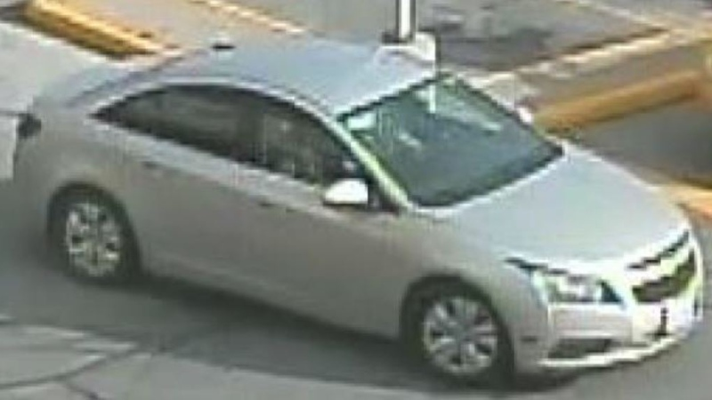 Suspected vehicle (South Simcoe Police)