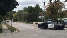Police are investigating after a person was found injured in Elora (Chris Thomson / CTV Kitchener)