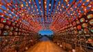 Pumpkins After Dark uses some 6,000 pumpkins to create dozens of displays. (Pumpkins After Dark)