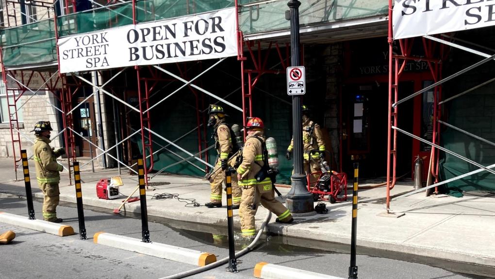 York Street Spa fire