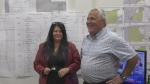 Marc Serre, MP-Elect for Nickel Belt, at his campaign headquarters. Sept. 21/21 (Lyndsay Aelick/CTV Northern Ontario)