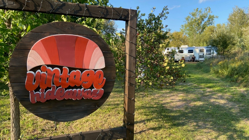 Vintage Hideaway is an Ottawa getaway experience that will make you feel like it's the 1970s again. (Dylan Dyson / CTV News Ottawa)