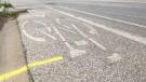 A bike lane is seen in this file image. (Ricardo Veneza / CTV News)