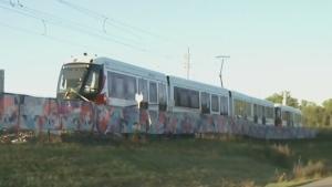 New: Train derailed before entering Tremblay Stati