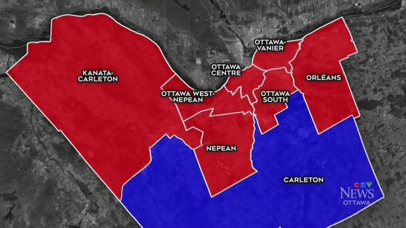 Ottawa ridings look familiar after election