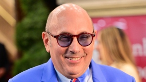 """Willie Garson seen on the set of """"And Just Like That..."""" in July. (James Devaney/GC Images/Getty Images/CNN)"""