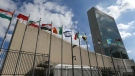 A view of the UN headquarters ahead of the 71st session of the United General Assembly. (Valery Sharifulin/TASS via Getty Images/CNN)