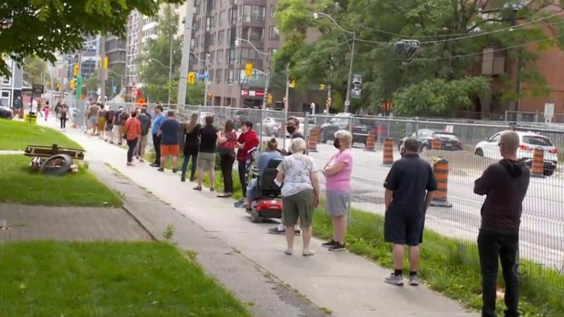 CTV National News: Massive lineups to vote