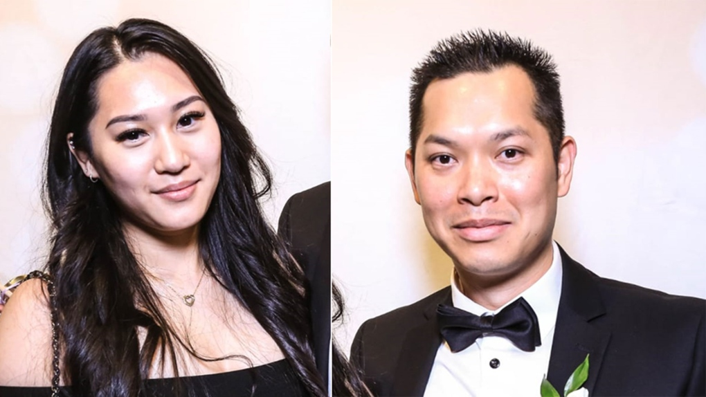 Kristy Nguyen and Quoc Tran