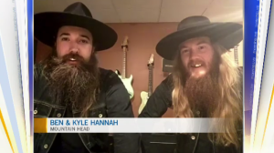 Ben and Kyle Hannah are rock duo Mountain Head