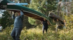Timmins man helps revive historic canoe portage