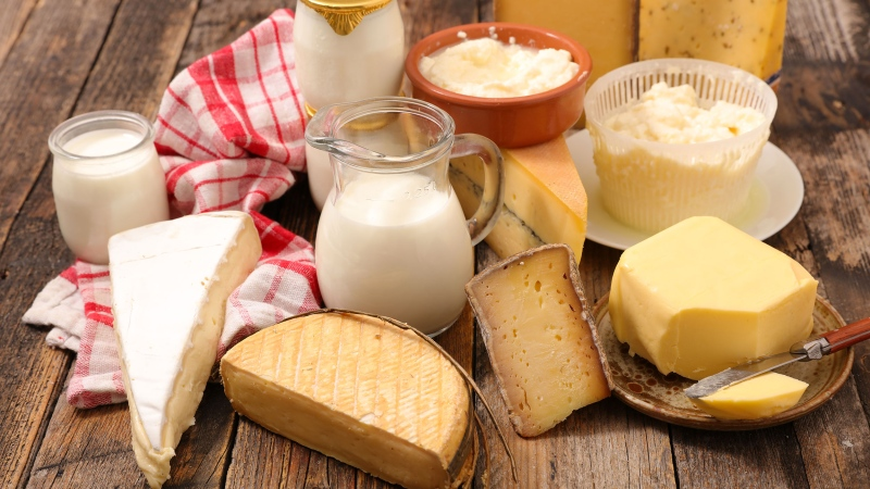 People with a higher consumption of dairy fat have a lower risk of cardiovascular disease than those with low intakes, according to new research studying some of the world's biggest consumers of dairy products. (Adobe Stock/CNN(