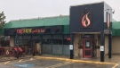Fireside Grill and Bar on Commissioners Road East in London, Ont., Wednesday, Sept. 22, 2021. (Sean Irvine / CTV News)