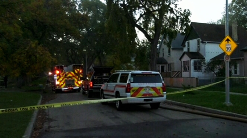 Early morning fire breaks out at North End home