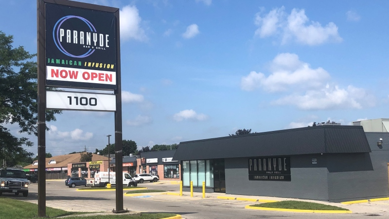 Paranyde Bar and Grill on Commissioners Road East in London, Ont. is seen Monday, Aug. 23, 2021. (Jim Knight / CTV News)