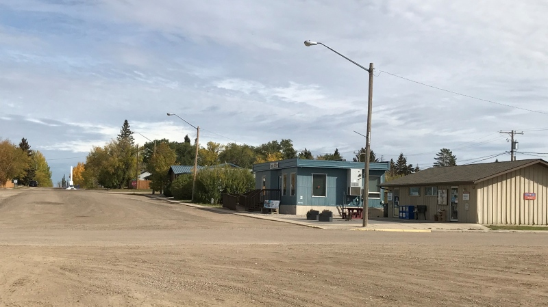 Marshall, Sask. is shown in a Sept. 22, 2021 photo. (Courtesy CITL)