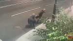 This grandmother was fearless in the face of an attempted mugging in Moscow, managing to hold off her attacker until help arrived.