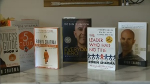 Self-help author Robin Sharma is one of the leading voices in the world on personal development and his books have sold millions of copies in nearly 100 countries.
