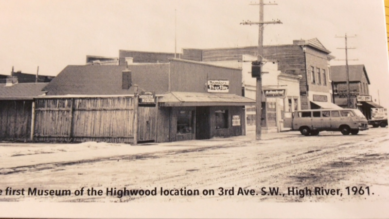 The original location of the Museum of the Highwood. (Courtesy Museum of the Highwood)