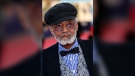 Director, actor and screenwriter Melvin Van Peebles is seen during a tribute to his career at the 38th American Film Festival in Deauville, France, Sept. 5, 2012. (AP Photo/Michel Spingler)