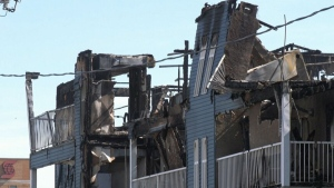 Everyone accounted for after Brandon condo fire