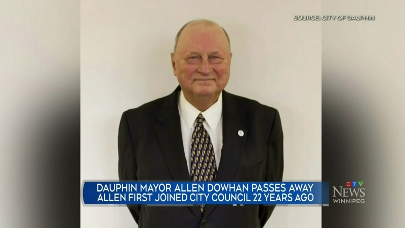 Dauphin Mayor Allen Dowhan passes away