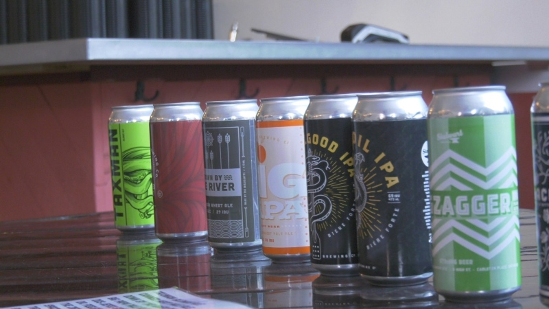 Stalwart Brewing is located in Carleton Place. (Dylan Dyson/CTV News Ottawa)
