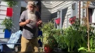 Udo Staschik has taken the time during the pandemic to develop a new skill, growing hot peppers. Sept. 22, 2021. (Source: Jamie Dowsett/CTV News)