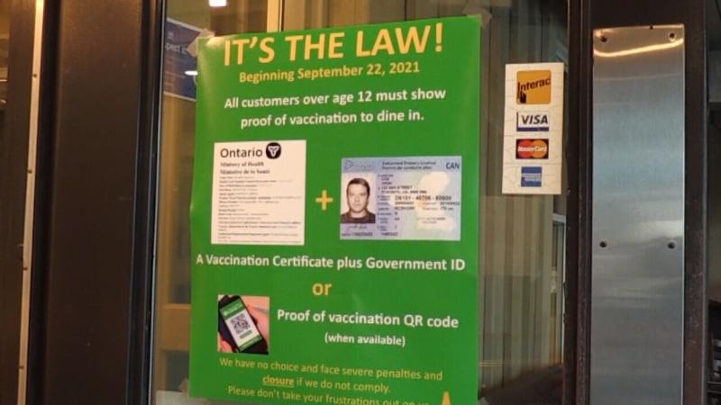 CTV National News: New vaccine passports
