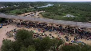 crisis unfolding at U.S.-Mexico border