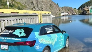 Electrifying journey: Cross-Canada drive in under