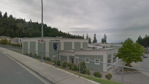 Promontory Heights Elementary School in Chilliwack, B.C., is seen in this undated image. (Google Maps)
