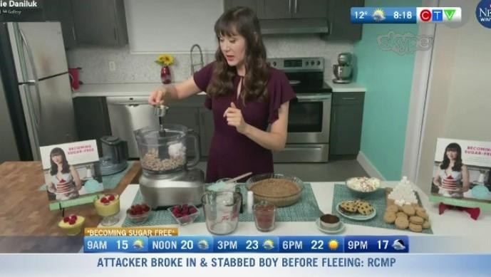 Cookbook helping people cut down on sugar