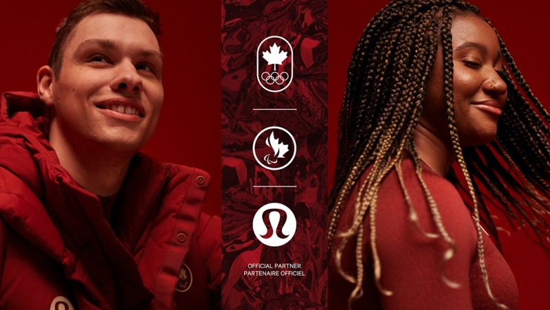 The Canadian Olympic Committee and the Canadian Paralympic Committee announced Lululemon is the new 'official outfitter' for the 2022 Beijing Winter Olympics (Supplied photo)