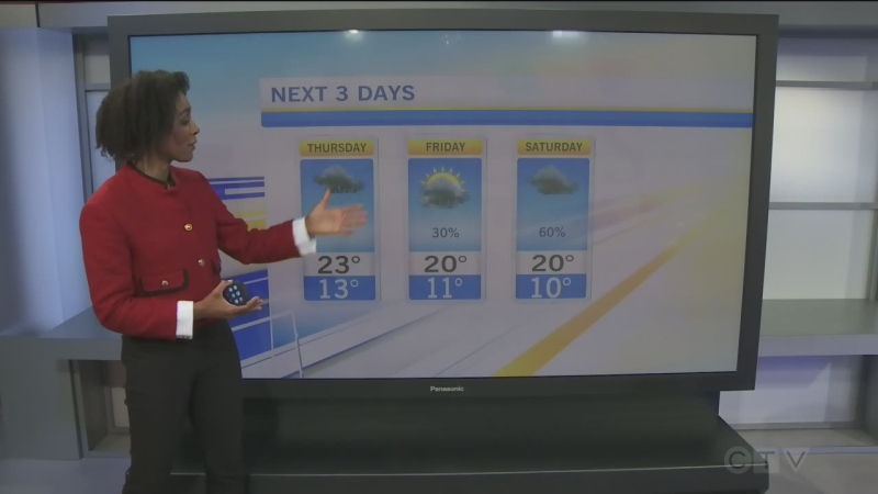CTV Morning Live Weather Sep 23